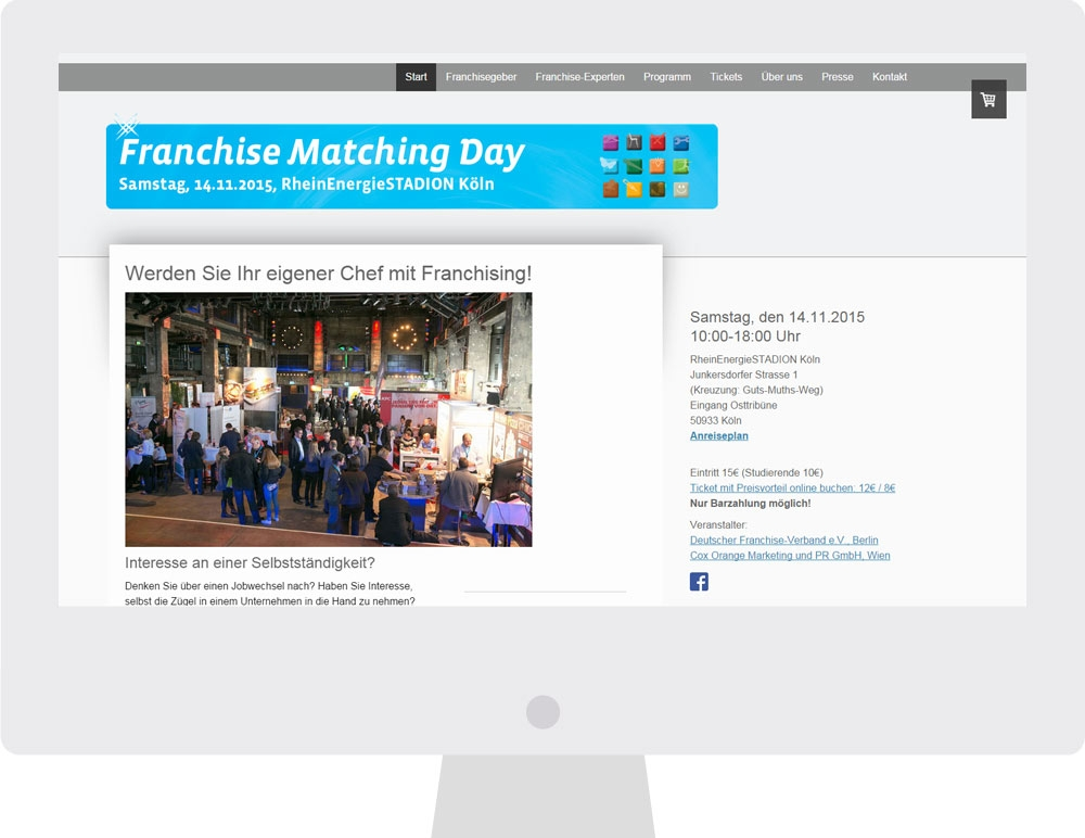 AdWords Kampagne Franchise Matching Day
