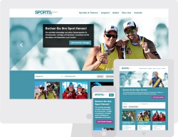 SPORTS.Selection am PC, Tablet und Smartphone