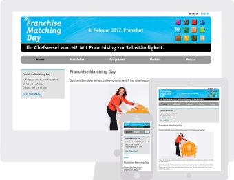 Franchise Matching Day - Website